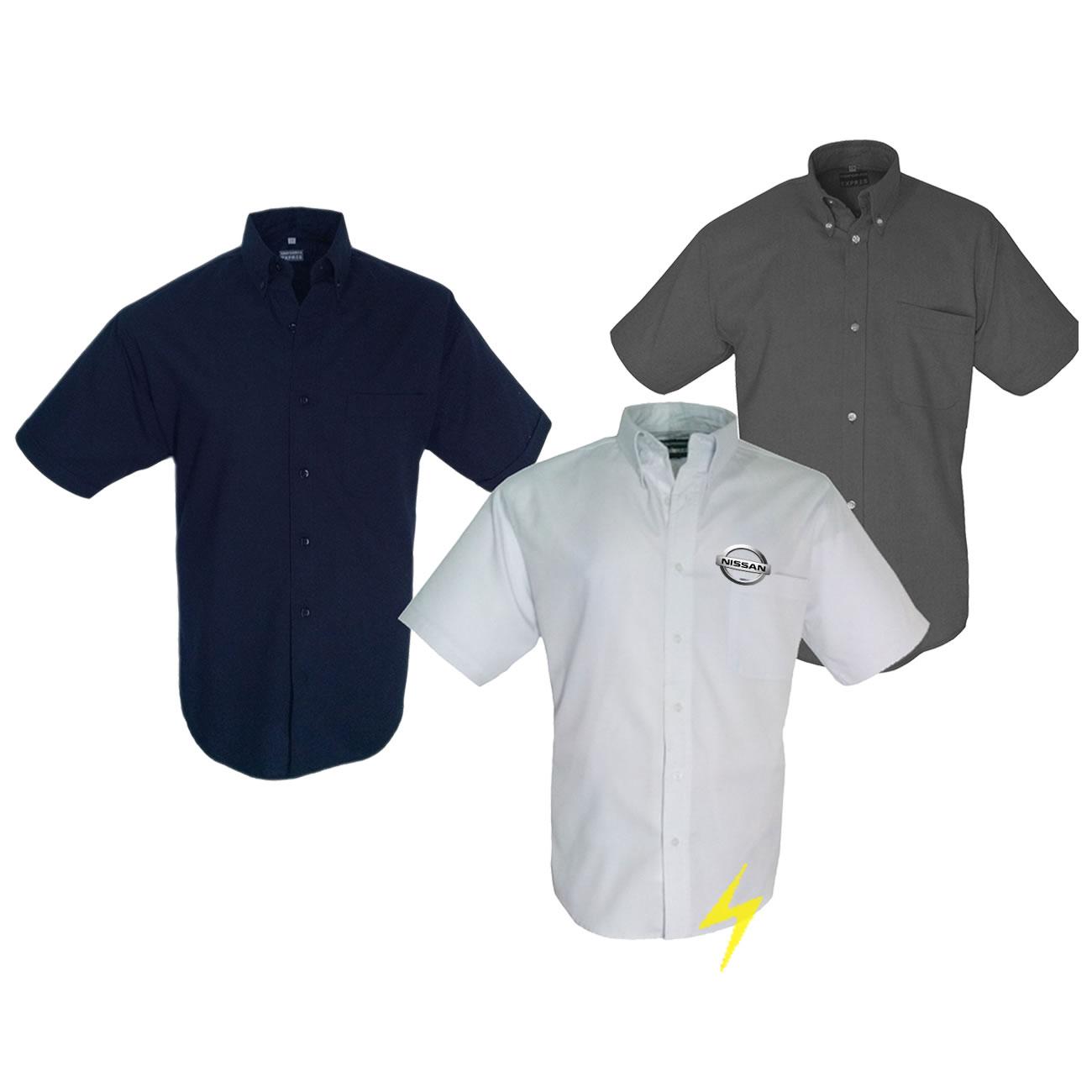 Camisas bordadas DF│Camisas para uniformes│Blusas│logos 7b9cbf6fa0601