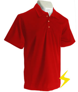 Playera polo dry fit