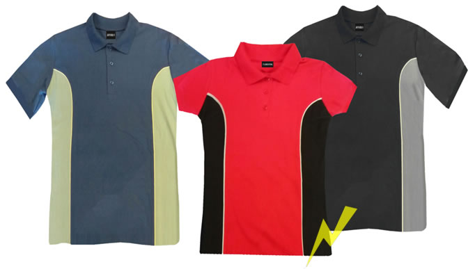 playera polo combinadas