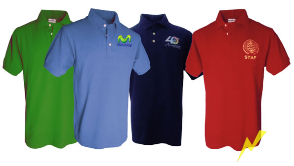 playeras polo con logo
